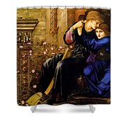 Love Among The Ruins 1894 Shower Curtain
