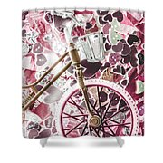 Love Courier Shower Curtain