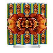 Love For The Fantasy Flowers With Happy Joy Shower Curtain