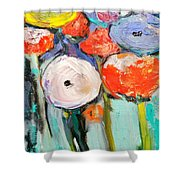 Love Of Poppies Shower Curtain