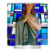 Lovely Mary Shower Curtain