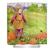 Lovey Takes A Walk Shower Curtain