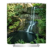 Lower South Falls Shower Curtain