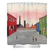 Lowry In Japanese Bloom Shower Curtain