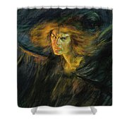 Lucifer, 1902 Shower Curtain