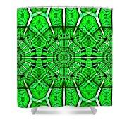 Art Deco Lucky Charms Shower Curtain