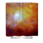 Luminescence Shower Curtain by Valerie Anne Kelly