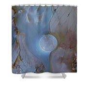 Lunar Drift #3 Shower Curtain