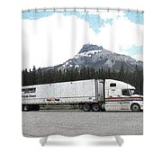 Lunch Break In Alberta Shower Curtain