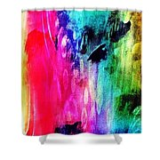 Luxe Splash  Shower Curtain