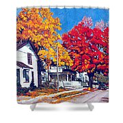 Machelle Street, Shower Curtain