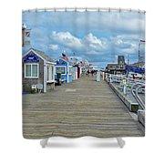 Macmillan Pier Provincetown Cape Cod Massachusetts 01 Shower Curtain
