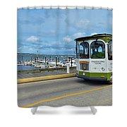 Macmillan Pier Provincetown Cape Cod Massachusetts 03 Shower Curtain