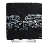 Macular Hole Oct Shower Curtain