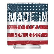 Made In Totowa, New Jersey #totowa Shower Curtain