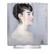 Mademoiselle Isabelle Lemonnier        Shower Curtain