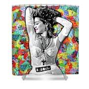 Madonna Boy Toy Shower Curtain