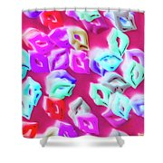 Making Out A Sensual Scene Shower Curtain