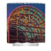 Mall Sundown Shower Curtain