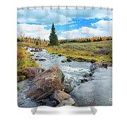 Mammoth Autumn Shower Curtain