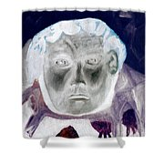Man With Purple Udders Shower Curtain