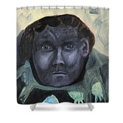Man With Udders Shower Curtain