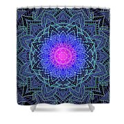 Mandala Love Shower Curtain