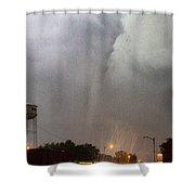 Mangum Oklahoma Tornado 019 Shower Curtain by Dale Kaminski