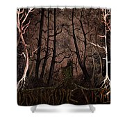 Many A Night Shower Curtain