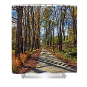 Maple Lane Old Fairgrounds Road Nh Shower Curtain