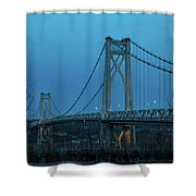 March Evening At Mid-hudson Bridge 2019 Shower Curtain