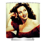 Maria Felix, Vintage Actress Shower Curtain
