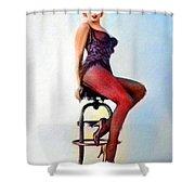 Marilyn Monroe, Portrait Shower Curtain