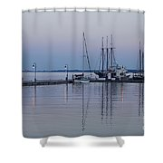 Marina Twilight Shower Curtain