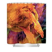 Marmalade Bloom Shower Curtain