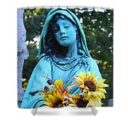 Mary, Mother Of Jesus Shower Curtain
