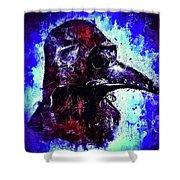 Plague Mask 3 Shower Curtain