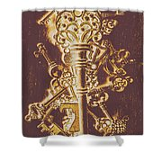 Master Key Shower Curtain
