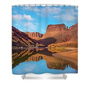 Mat Martin Point And The Colorado Shower Curtain