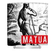 Matua Shower Curtain by MB Dallocchio