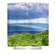 Maui Paradise Shower Curtain by Jim Thompson