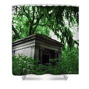Mausoleum In Georgia IIi Shower Curtain