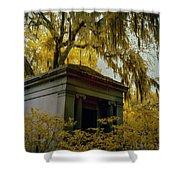 Mausoleum In Georgia  Shower Curtain