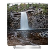 May Evening At Awosting Falls I Shower Curtain