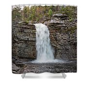 May Evening At Awosting Falls II Shower Curtain