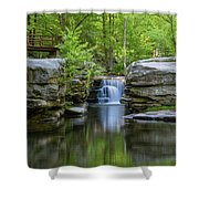 May Morning At Split Rock Shower Curtain