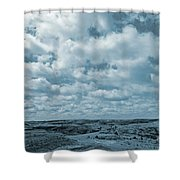 May On The Great Plains Shower Curtain