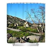 Maze Stone Road Shower Curtain