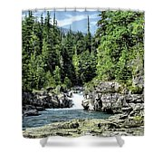 Mcdonald Creek 1 Shower Curtain