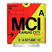 Mci Kansas City Luggage Tag I Shower Curtain